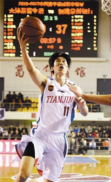 CBA常规赛116比102击败福建队天津男篮胜利结束主场