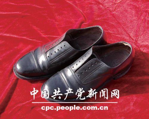 馆藏文物:周恩来的皮鞋