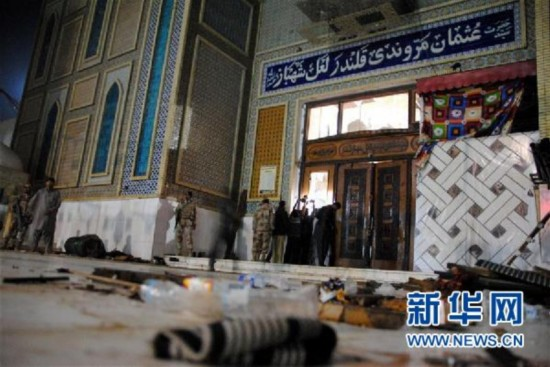 巴基斯坦南部自杀式爆炸已致72死200多伤