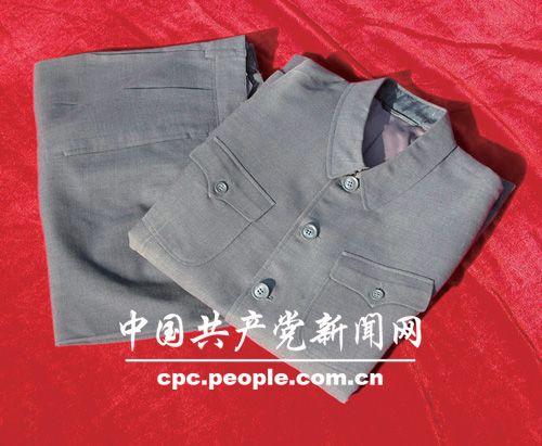 馆藏文物:周恩来的中山装