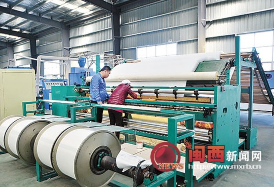 福建三达节能新材股份有限公司将建省最大无纺布生产基地