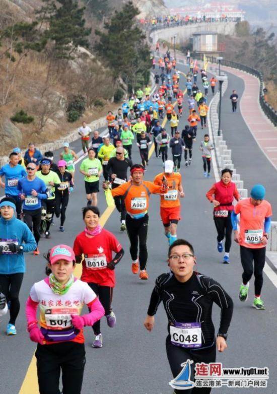 600名跑者齐聚连云港东连岛 为健康奔跑