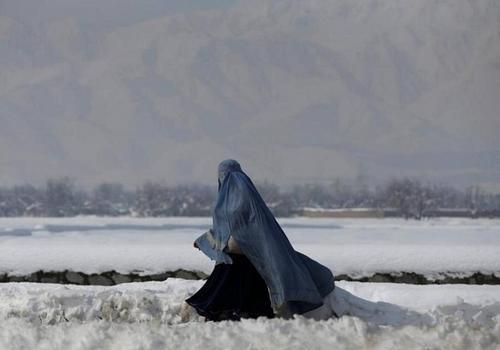 阿富汗雨雪天气3天致近百人伤亡大量民宅受损