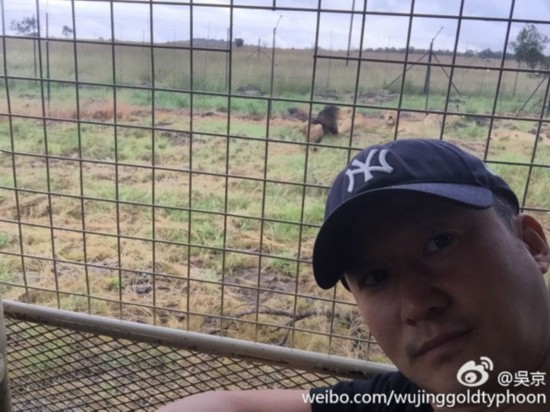 吴京再访非洲 《战狼2》开启第二阶段拍摄