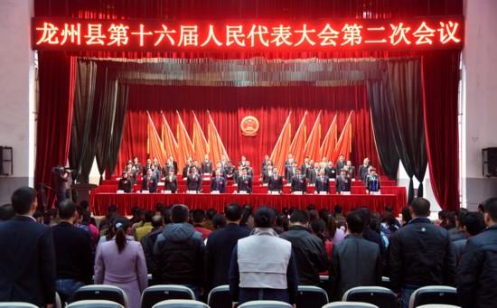 龙州县第十六届人民代表大会第二次会议胜利闭幕