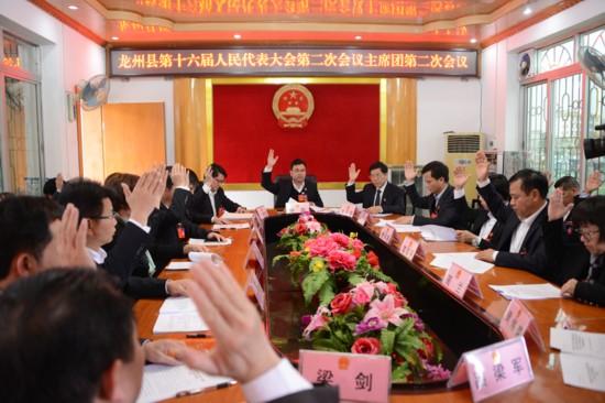 龙州县第十六届人民代表大会第二次会议