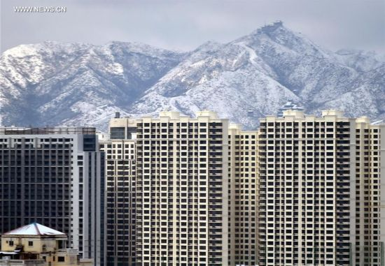 Scenery after snowfall across China