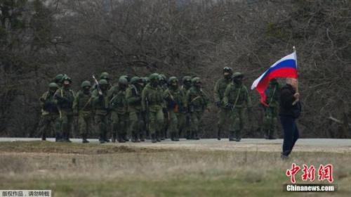 资料图:俄军