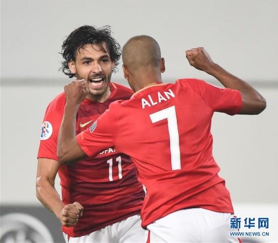 亚冠:广州恒大主场7-0胜香港东方(比赛集锦)