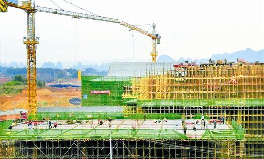 第十届广西(贺州)园博园进展顺利