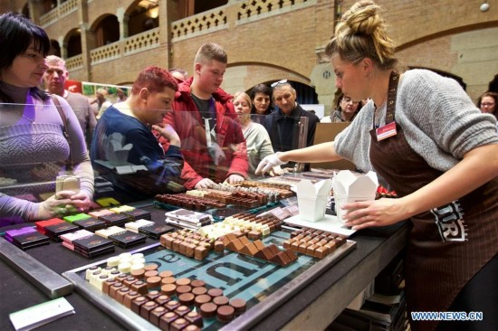 NETHERLANDS-AMSTERDAM-CHOCOLATE FESTIVAL