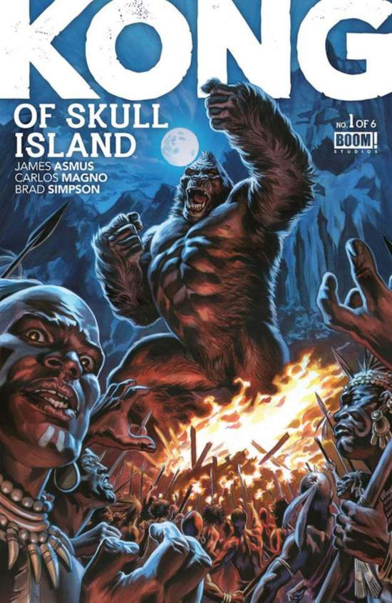 《金刚:骷髅岛》未映先红漫画王妃打造金刚宇全新漫画小图片