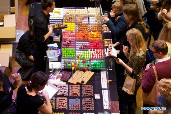 NETHERLANDS-AMSTERDAM-CHOCOLATE FESTIVAL