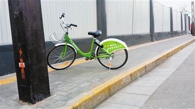 共享单车很方便 随意停放不应该