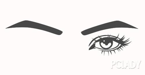 标准眉的画法步骤图解