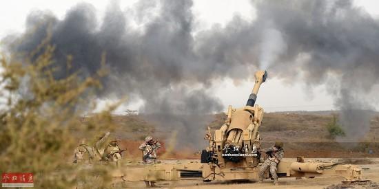 也门政府军与胡塞武装激战致40人死亡