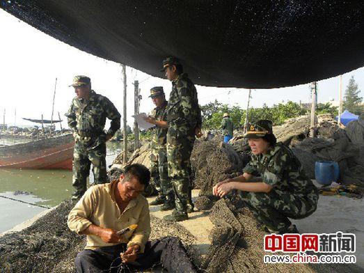 海南省公安邊防總隊醫院政治處主任陳少峰