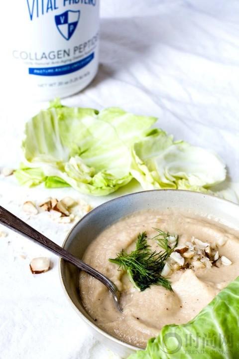 这么冷的天 来一碗蔬菜汤暖暖胃吧