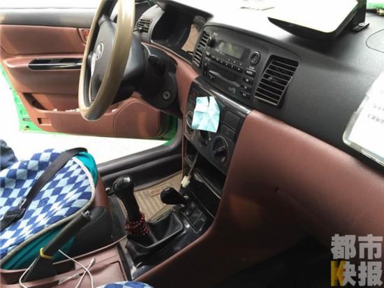 出租车计价器路边被盗 蟊贼留微信号索要600元