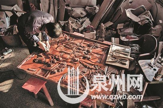 木雕匠人陈世猛――方寸之间 挥刀如笔