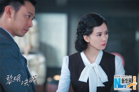 """刘诗诗首次挑战女特工 王千源点赞""""一遍过"""""""