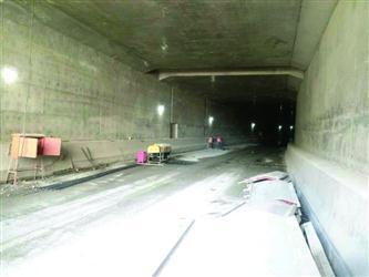 沈阳南北快速干道隧道7月末试通车