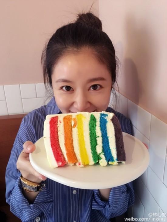 Get明星最爱的彩虹蛋糕 这才是吃货迎接春天的方式