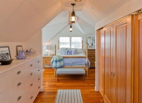 卧室衣帽间一体装修设计 空间达到最大利用化