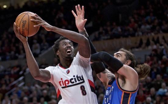 (体育)(5)篮球――NBA:雷霆不敌开拓者