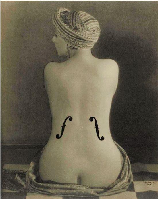 曼·雷与《安格尔的提琴》