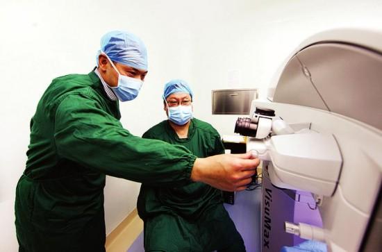 """西安一眼科医院联手德国蔡司打造""""近视手术节"""""""