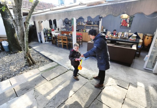跨国夫妻定居苏州 分享苏式慢生活