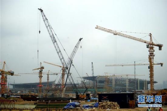 (图文互动)港珠澳大桥澳门口岸项目将如期实现通关基本功能