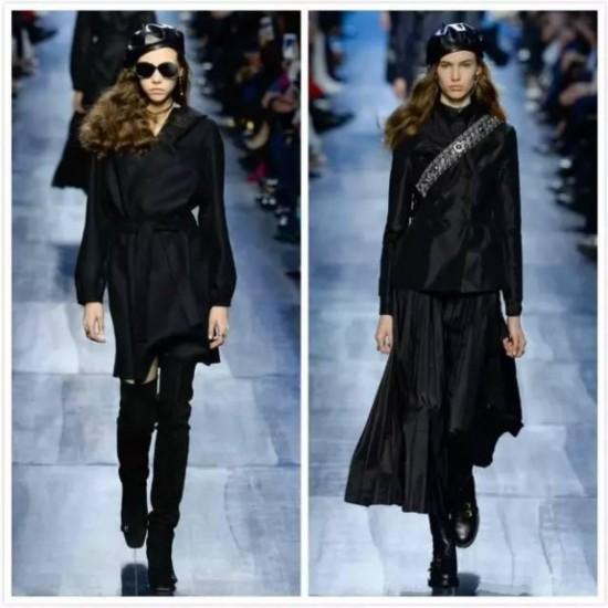 Dior2017秋冬时装周 另辟蹊径海军蓝风格