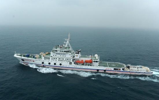 我国第一艘具深远海搜寻专业救助船投入使用