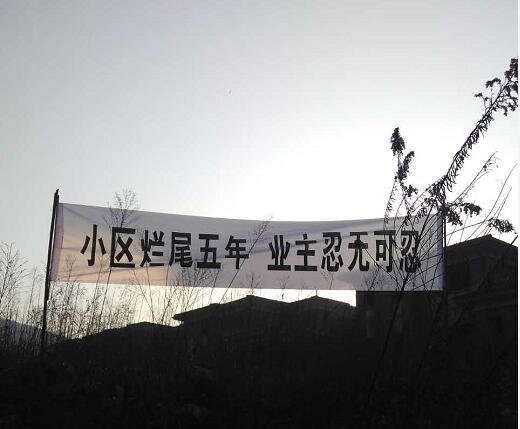 高档别墅烂尾长达5年!谁该为南京阳明山庄业主买单?