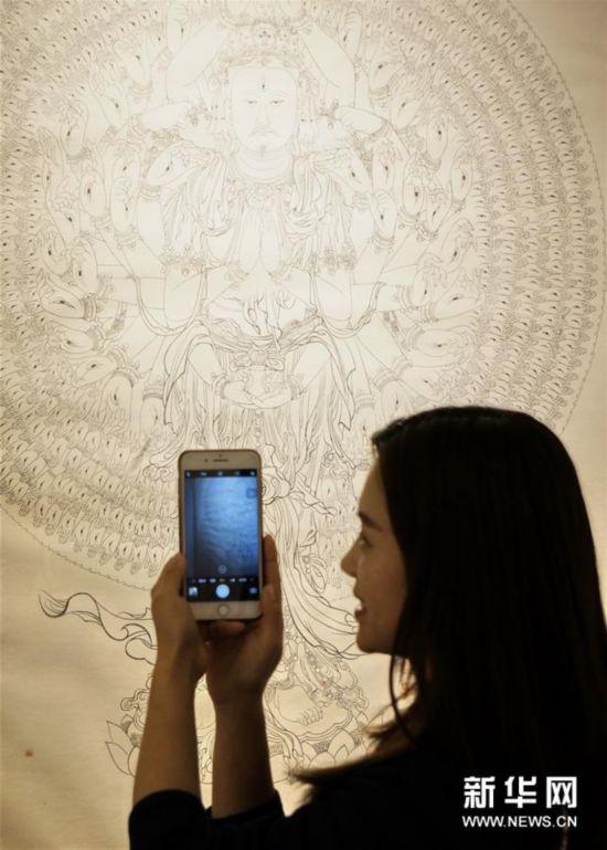 (文化)(1)敦煌艺术文献展在京开幕