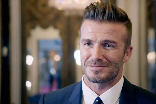 David Beckham signed by Chinese TV - People's Daily Online