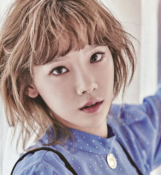 泰妍新专辑又换新发色 发色百变美颜不变