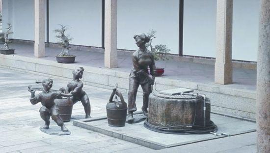 """莆田:""""三清仙水""""群雕落户国保三清殿"""
