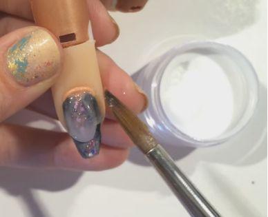 别抠!这是我的指甲这不是水晶