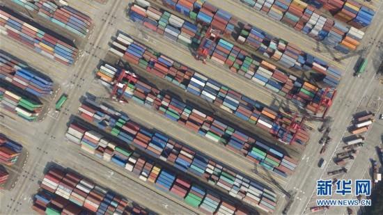 (经济)(1)空中巡礼上海自贸区