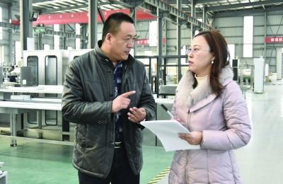 """连云港开发区""""双进双促""""助力经济社会加速跑"""