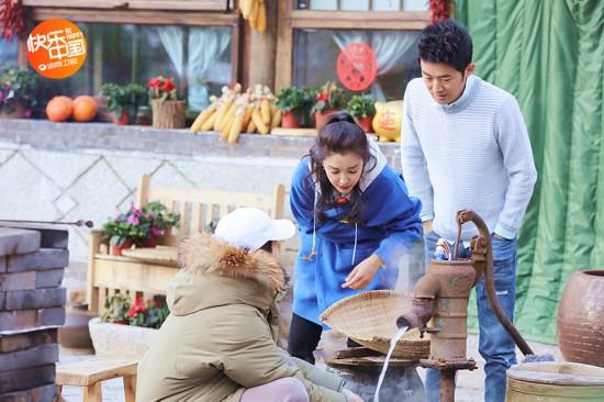 《向往的生活》李冰冰技能满点 拿手菜不输黄磊