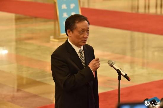 国家旅游局局长李金早。人民网记者 翁奇羽摄