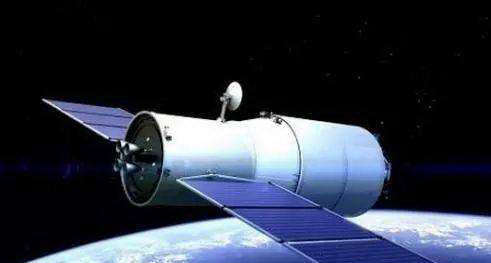 An artist's rendering of the Tianzhou-1 module. [Photo: Wechat]
