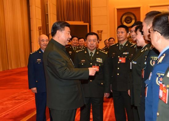 习近平出席解放军代表团全体会议并发表重要讲话 - 新兵 -