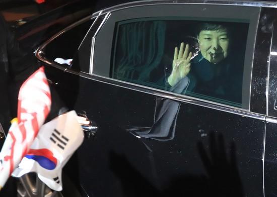 朴槿惠搬出青瓦台