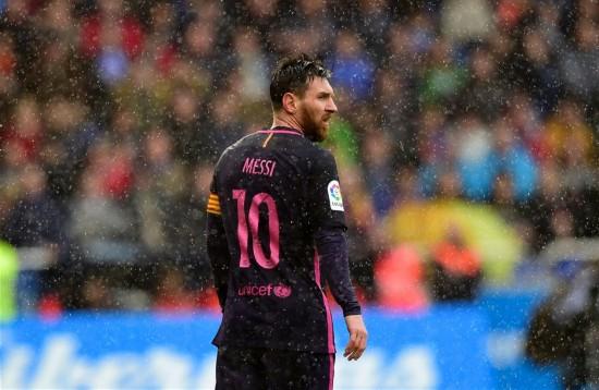 西甲联赛:巴塞罗那不敌拉科鲁尼亚