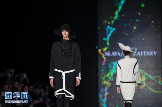 2017俄罗斯时装周在莫斯科拉开帷幕